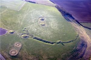 palimpsest - prehistoric field system