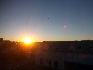 Sunrise November 10 2013